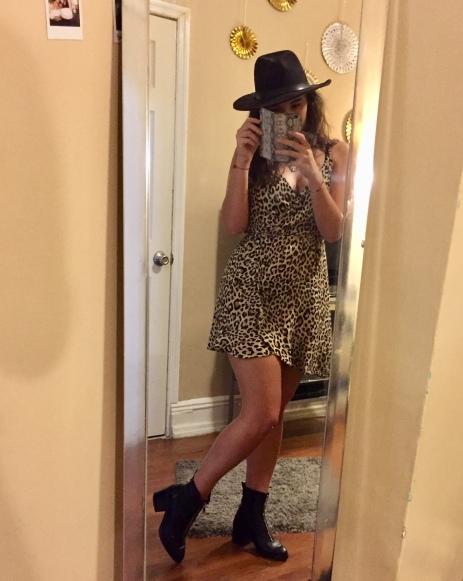 petit look léopard